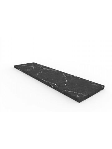 Schwelle in schwarzem Marmor Marquinia