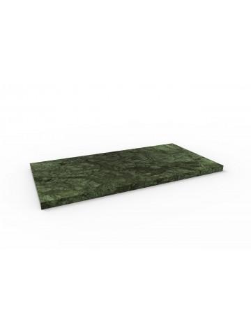 Böden 60x30 in grünem Marmor aus Guatemala