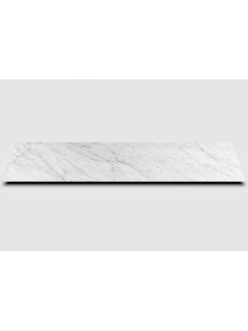 Top mobile cucina in marmo Bianco di Carrara