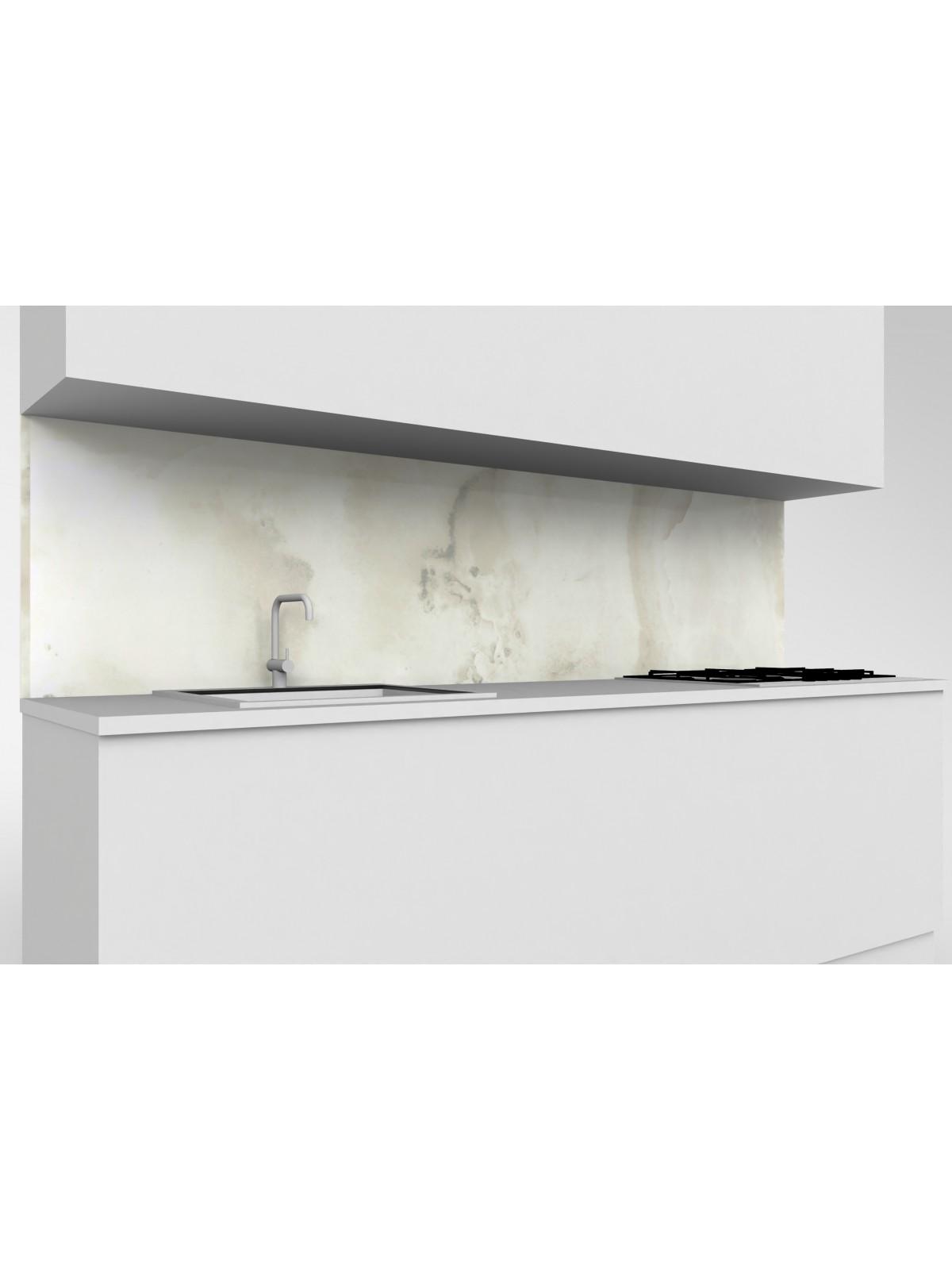 Erhöhte obere mobile Küche Dekton Fiord Keramik