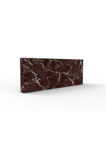 Aufsatz in Rosso Levanto Marmor