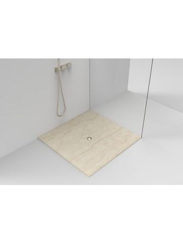Duschplatte Overpailing in Botticino