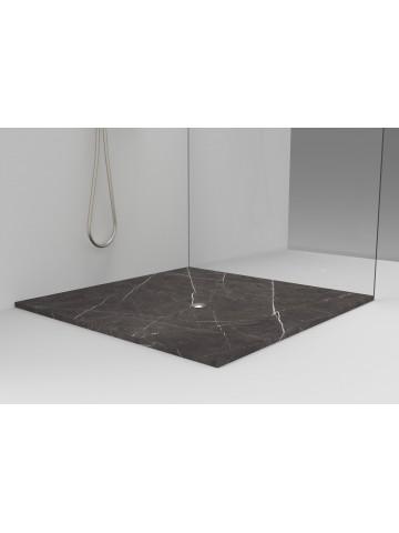 Duschplatte Gestrandet in Graphitstein