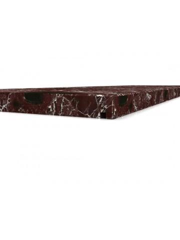 Schwelle rein Marmor Rosso Levanto