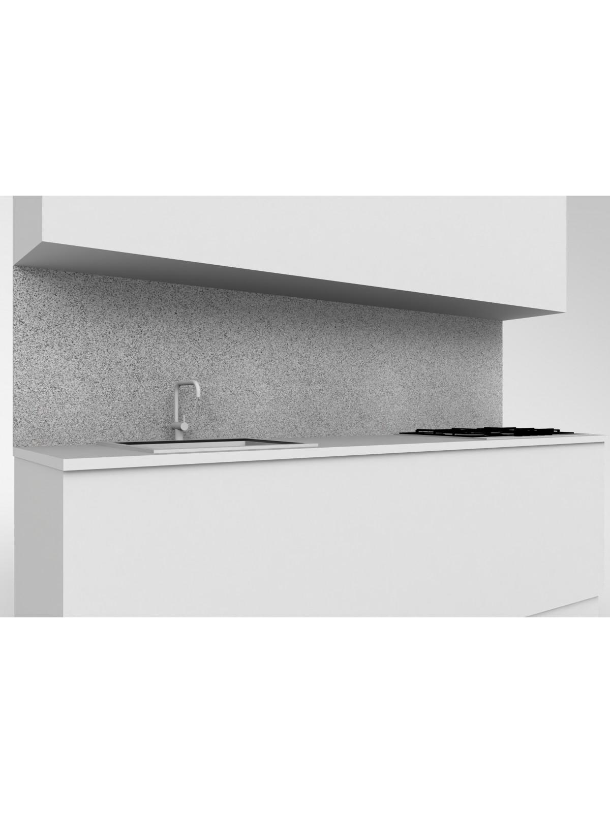Erhöhte obere mobile Küche in Diorit Granit Klar