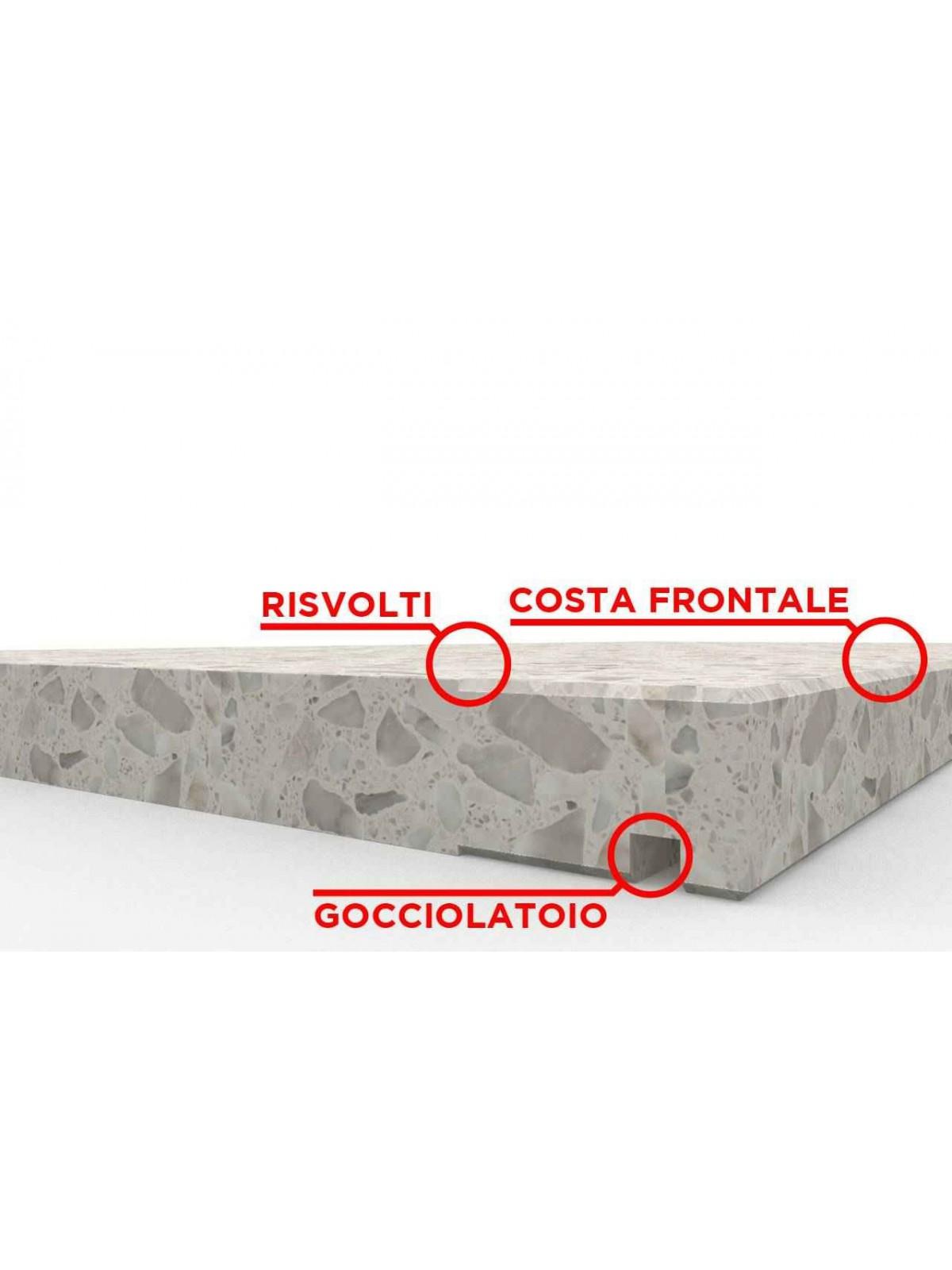 Fensterbank in Terrazzo SB250 Lido