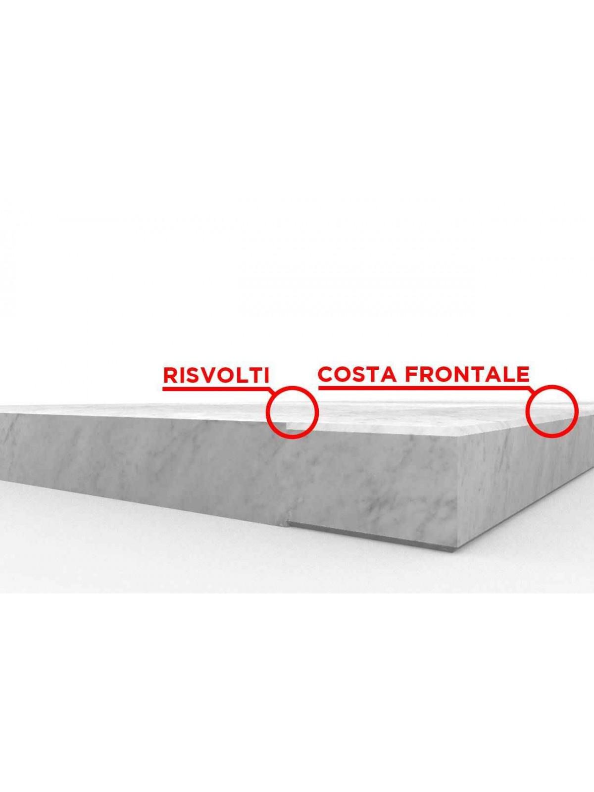 Carrara White Threshold