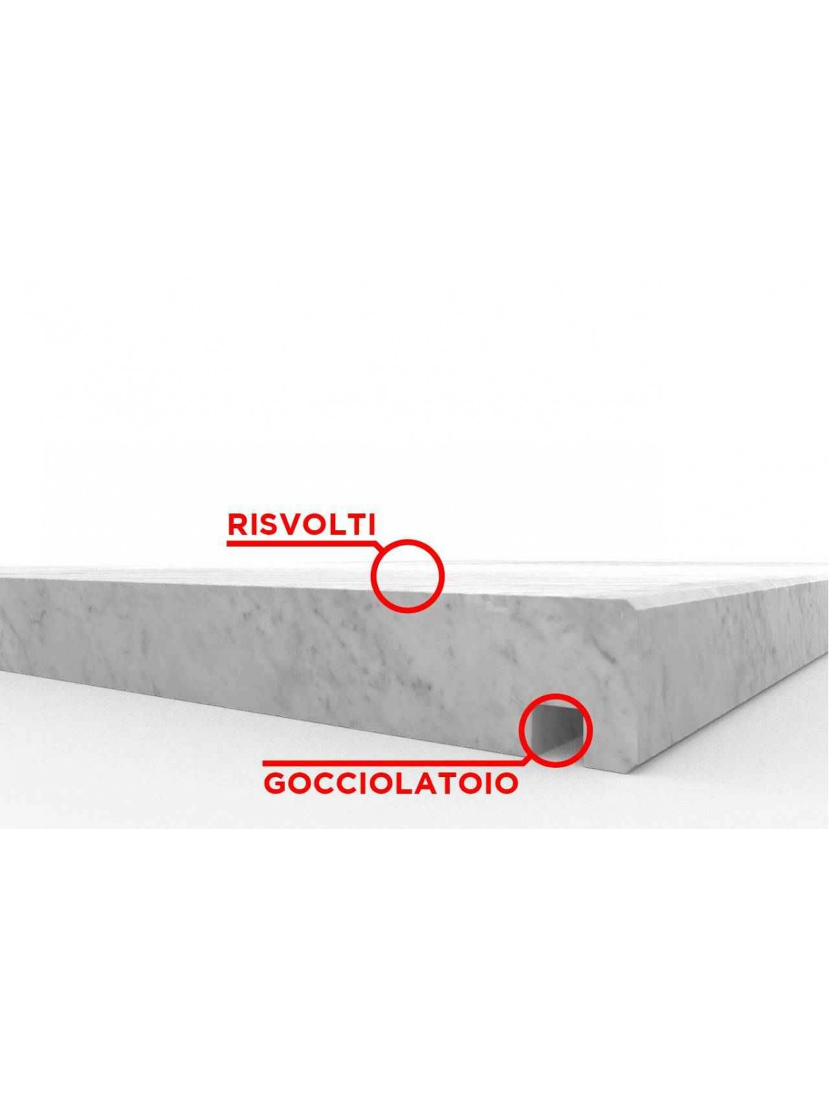 Carraras weißer Umschlag