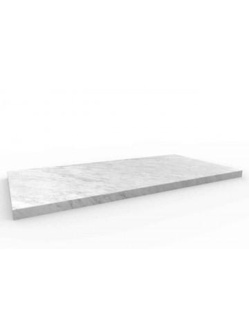 Pavimento 60x30 in Bianco di Carrara
