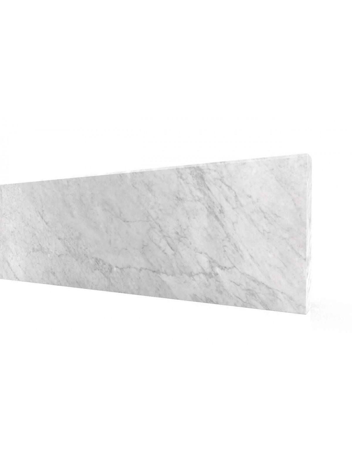 Aufsatz Treppensteig aus Carrara weiße
