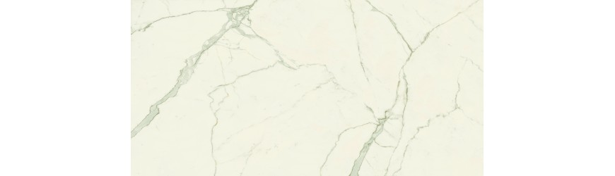 Großformatige Atlas Concorde Keramik aus Calacatta White Marble