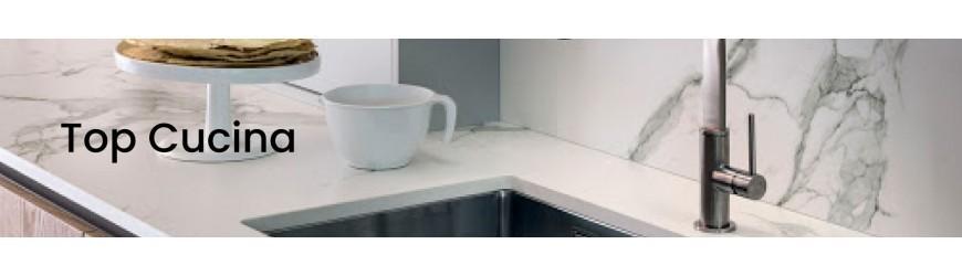 Küchenarbeitsplatte aus Marmor und Granit nach Maß | MarmoGranito.ch