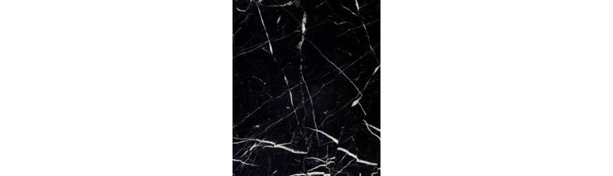Verarbeitung schwarzer Marmor Marquina